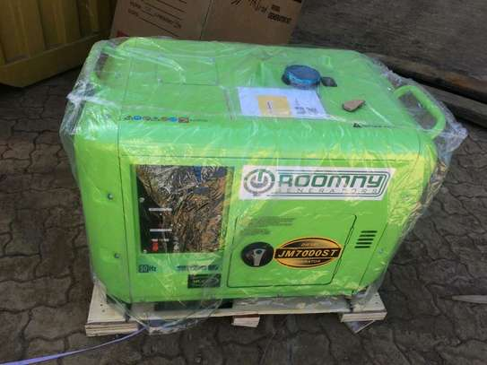 5 KVA Automatic Roomny Diesel Engine Generator with canopy image 9