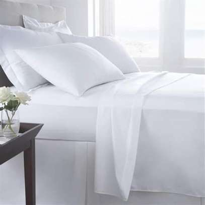 Pure White Bedsheets 5x6 image 1