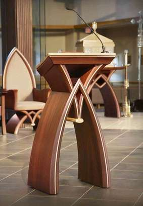 Classic Podiums for sale in Nairobi Kenya/modern church podiums/altar Furniture/conference podiums image 1