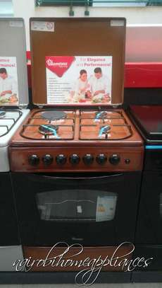 Ramtons 3G + 1E, Brown Cooker (60x60cm) image 1