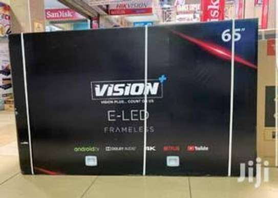 Vision 65 inches Android Smart UHD-4K Digital Tvs image 2
