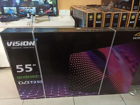 vision 55 smart android 4k tv image 1