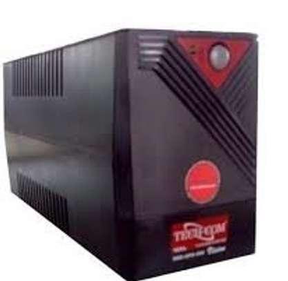 Tech-com UPS 650va-black Ups Back Up