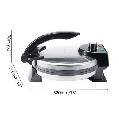 10 Inch Electric Chapati/Roti/Tortilla Maker image 3