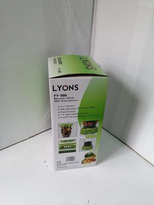 Lyons FY-999  2 in 1 Blender with Grinding Machine image 2