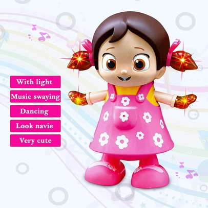 Dancing Girl Musical Fun Toy with Flash Light image 1