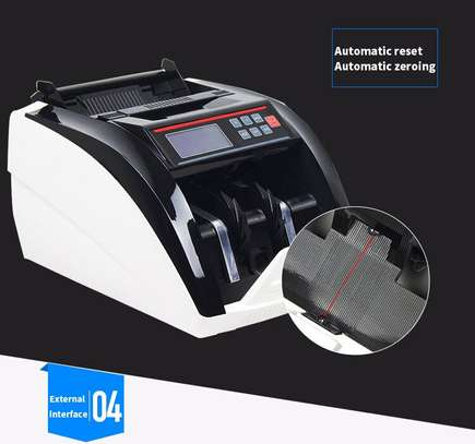 Fake Money Detector Banknote Money Counter 5800D UV/MG detector de billete falso LCD Display Note Counting Machine image 1