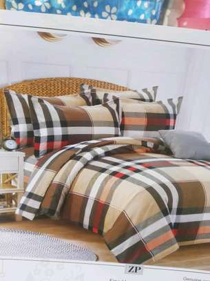 Brown cotton duvet