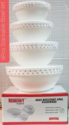 4 pcs stackable Bowls image 4