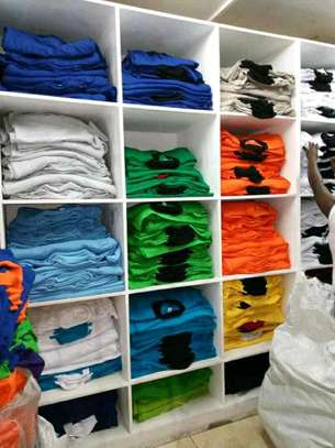 Polo and round neck plain t-shirts