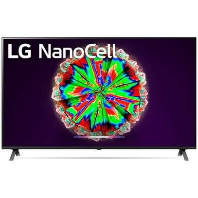 65 inch LG Smart NANO80 Series, Cinema Screen Design 4K Active HDR WebOS Smart AI ThinQ Local Dimming image 1