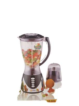 Sayona SB-606 - Blender with Mill & grinder with Metallic & Plastic Base. image 2