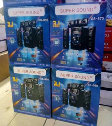 Super Sound 3.1Ch X-Bass Woofer image 1