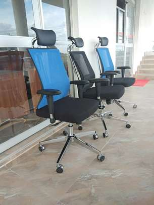 Othropedic office  blue chair image 1
