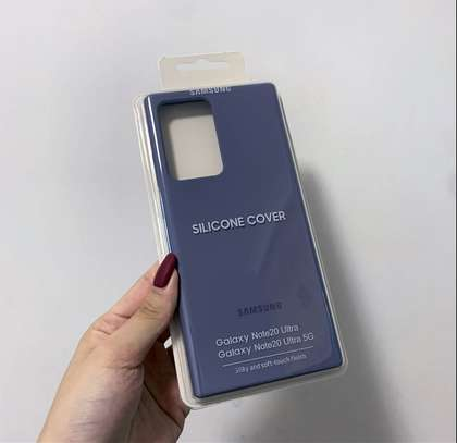 Silicone case with Soft Touch for Samsung Note 20 Note 20 Ultra image 3