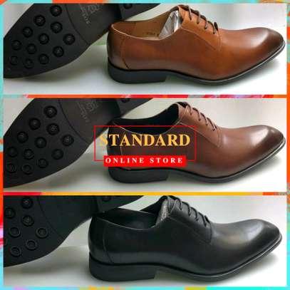 Italian pure leather shoes image 1