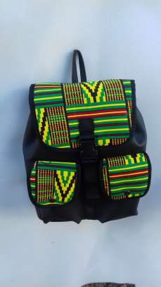 African Backpack - Unique image 2