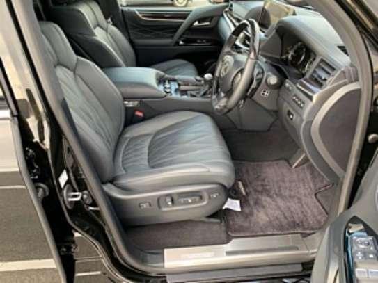Lexus LX 570 2019 Black image 6