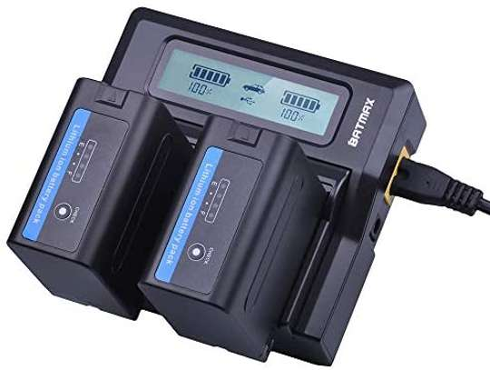 DOUBLE BC-V615 CHARGER FOR SONY L-SERIES BATTERIES
