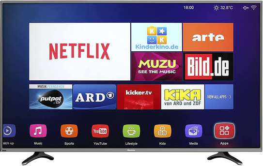 Hisense 43 inches Smart FHD Frameless Digital TVs image 1