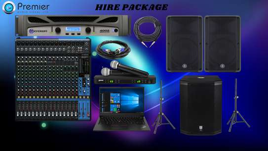 PUBLIC ADDRESS SYSTEM FOR HIRE image 1