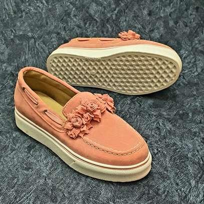 Fancy rubber sole shoes image 1