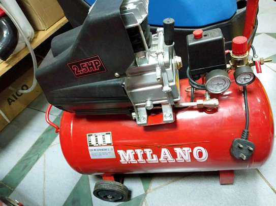 Milano 50l direct air compressor