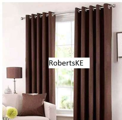 smart brown curtains image 1