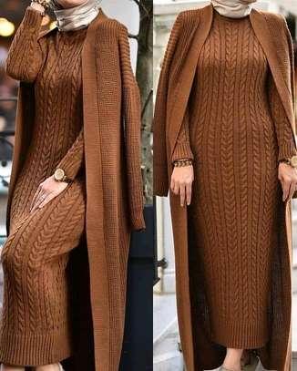 Knit Kimono | Knit Dress image 1