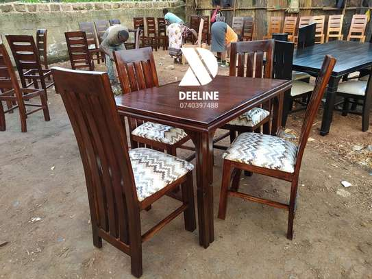 4 seater Dining Table Sets. image 2