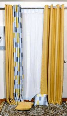linen style cheap curtains and sheers image 3