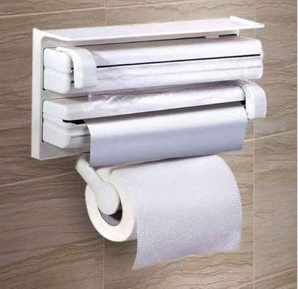 3 in 1 triple foil/tissue dispenser