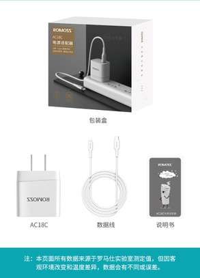Romoss AC18C Complete iPhone Charger (Fast Charger) image 2