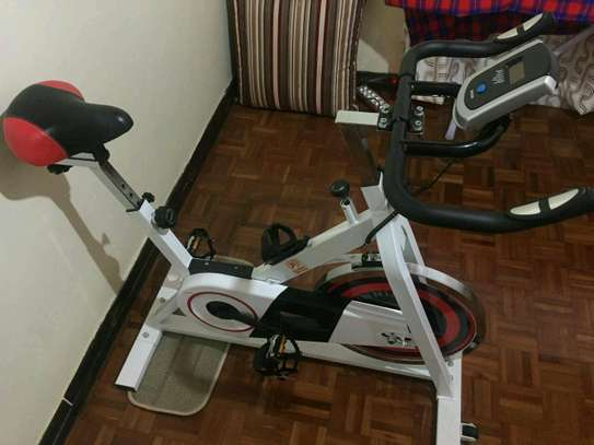 Home workout spinning bike