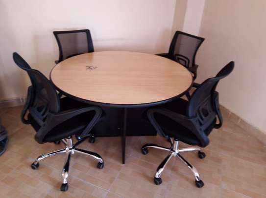 Round Table Office Desk