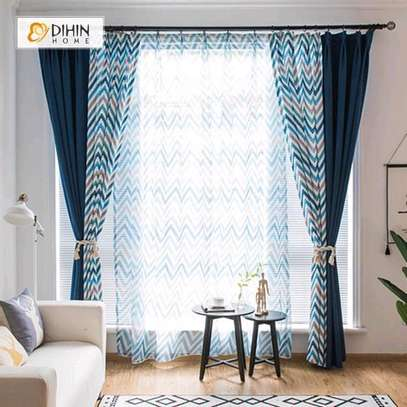 Curtains with matching sheers image 1