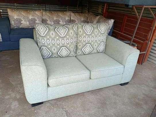 Beautiful Simple Quality 2 Seater Sofa image 1