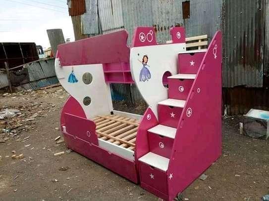Fancy tri /double decker kids beds image 4