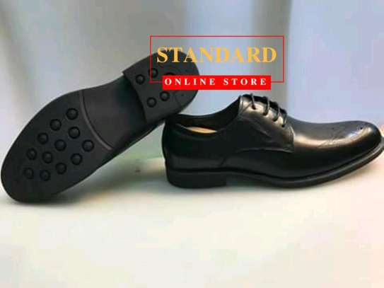 PURE ITALIAN LEATHER SHOES WITH RUBBER SOLE image 25