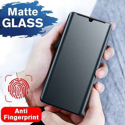 UV Privacy Anti-Spy Anti-Peep NANO Liquid Full Glue Tempered Glass For Samsung Note 20/Note 20 Ultra image 9