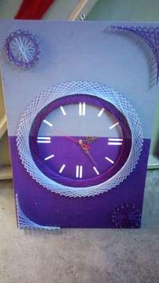 String Art wall clocks on offer!! image 8