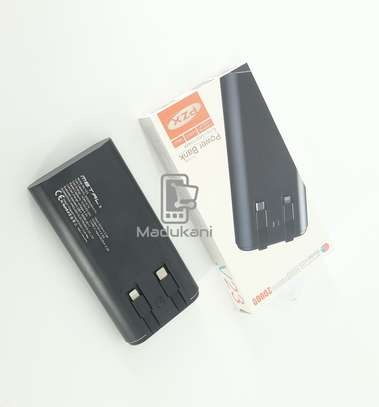20000mAh 3.7V 2.0A Fast Charge All Metal Powerbank USB-C image 2