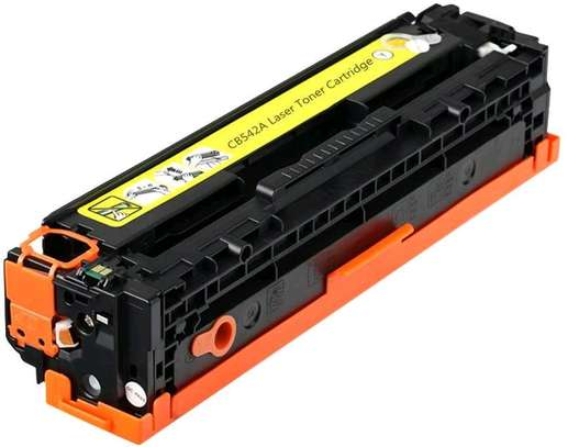 125A yellow cartridge CB542A printer number HP Color LaserJet CP1515n/CP1518ni and HP Color LaserJet CP1215 and HP LaserJet P1505 Printer series; and HP Color LaserJet CM 1312MFP and HP LaserJet M1522MFP and HP LaserJet M1120MFP. image 6
