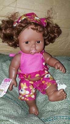 Africa kids doll/baby doll/baby/artificial baby image 1