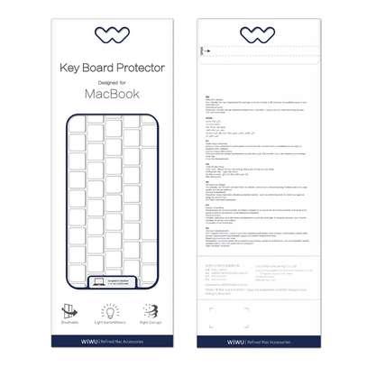 WiWU Ultra Thin Keyboard Protector Computer Desktop Keyboard Cover Skin Protector Laptop Keyboard Cover image 2