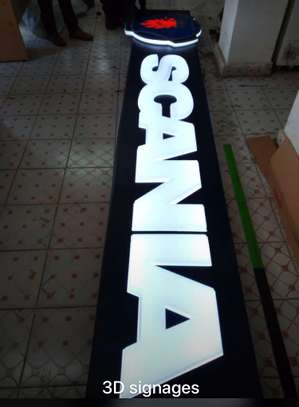 We do quality 3D signage, Light box signage, corporate logos.. contact us for pricing image 14