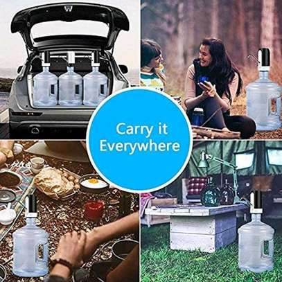 Electric Water Pump Dispenser USB Rechargeable Automatic Drinking Water Bottles image 4