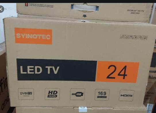 SYINOTEC 24'' INCH AC/DC LED DIGITAL TV With Inbuilt Decorder image 1