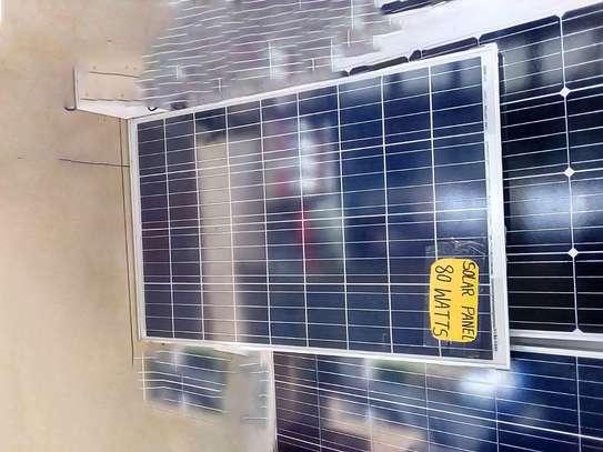 solar panel 80 watts image 1