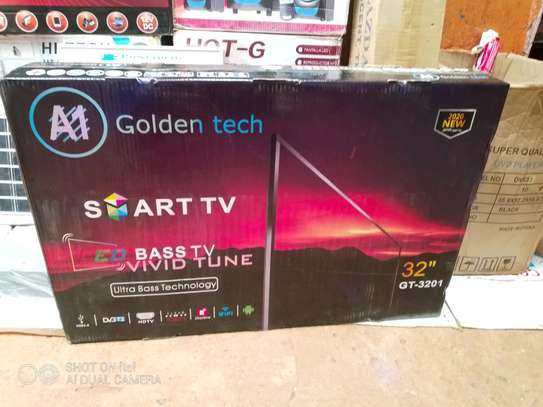 golden tech smart TV image 1